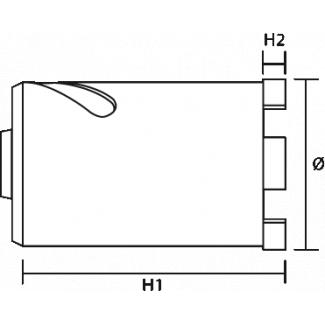 Amortyzator bezpieczeństwa ABM z zatrzaśnikiem AZ 003