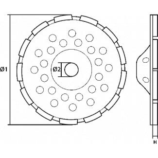 Amortyzator bezpieczeństwa ABW z zatrzaśnikiem AZ 002