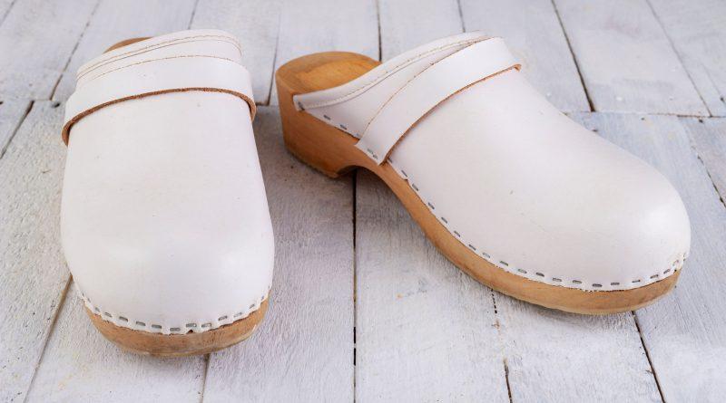 Białe obuwie HACCP