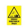 Znaki ostrzegawcze dla materiałów niebezpiecznych
