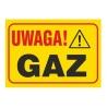 Znaki uzupełniające – gaz